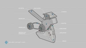 Gauss-Concept - Rahmendetails