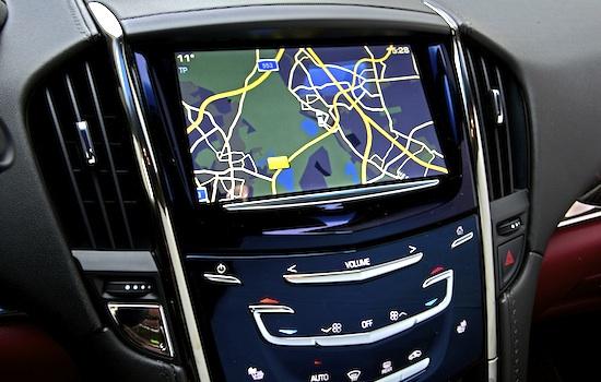 Cadillac ATS : CUE-Multimedia-System