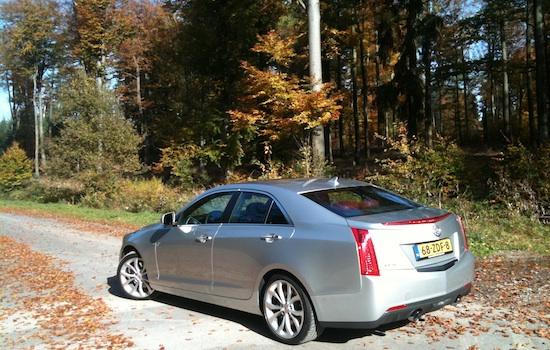 Cadillac ATS : Heckansicht
