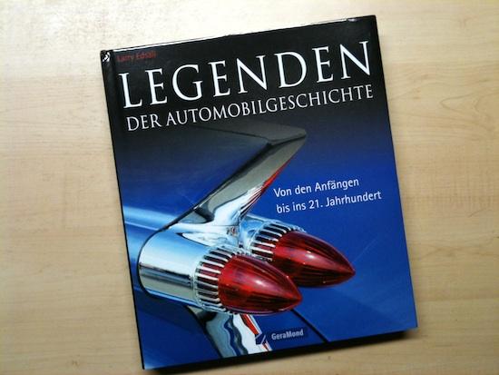 Legenden der Automobilgeschichte (Larry Edsall) : Cover