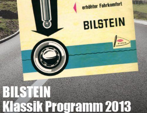 BILSTEIN Klassik-Programm 2013: Stoßdämpfer für´s Schätzchen