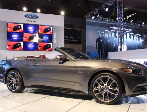 CES: Der 2015 Ford Mustang als Fastback und Cabrio GT