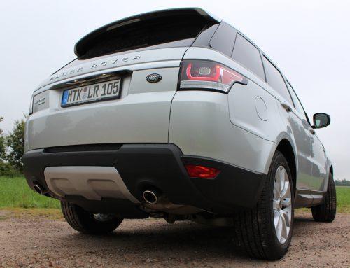 Unterwegs im: 2014 Range Rover Sport