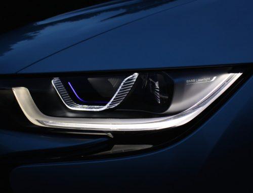 Zukunftstechnik: Laserlicht-Scheinwerfer für BMW i8