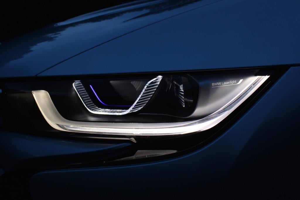 ZKW Laserlicht im BMW i8 / (c) BMW Group