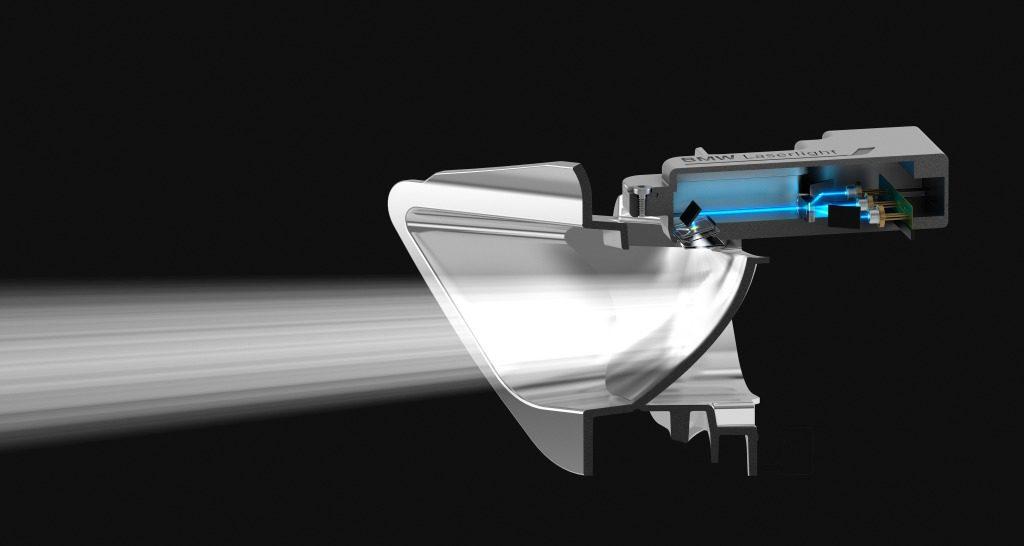 Funktionsschema: BMW i8 Laserlicht / (c) BMW Group