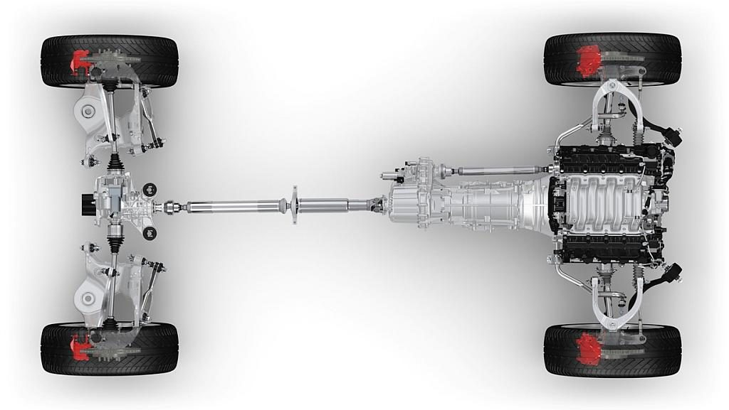 Range Rover Sport Driveline / (c) Land Rover