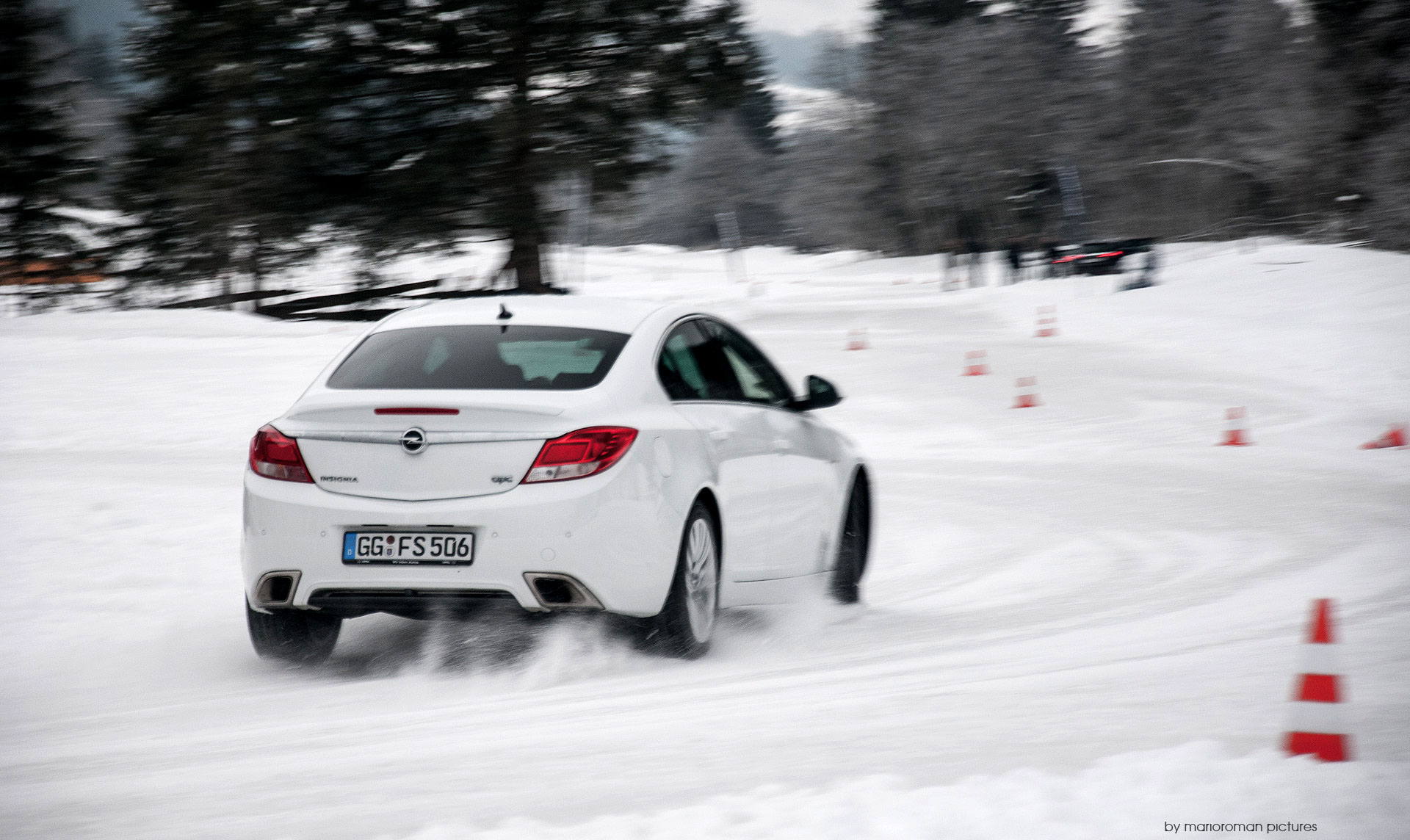 Opel Wintertraining 2013 / (c) marioroman pictures