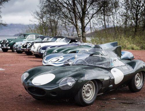 80 Jahre Jaguar: Ikonische Sportwagen bei der Mille Miglia