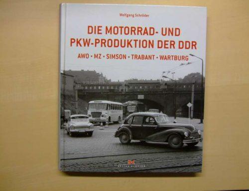 Buchtipp: Die Motorrad- und PKW-Produktion der DDR