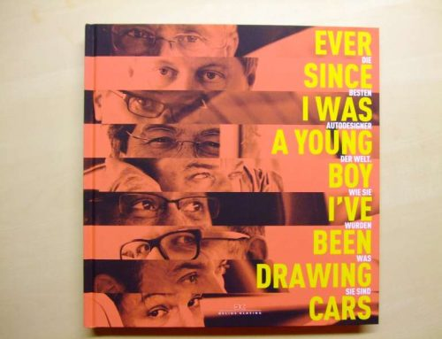 Buchtipp: Ever since I was a young boy I've been drawing cars