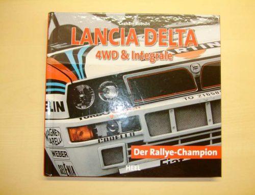 Buchtipp: Lancia Delta 4WD Integrale – Der Rallye Champion